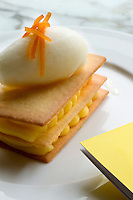 A dessert dish served from the bar of the Hotel Bab