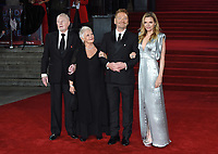 Derek Jacobi, Dame Judi Dench, Kenneth Brannagh and Michelle Pfieffer<br /> at the &quot;Murder on the Orient Express&quot; premiere held at the Royal Albert Hall, London<br /> <br /> <br /> &copy;Ash Knotek  D3344  03/11/2017