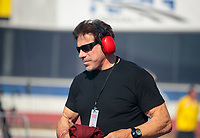 Feb 7, 2020; Pomona, CA, USA; Incredible Hulk actor Lou Ferrigno in attendance at NHRA qualifying for the Winternationals at Auto Club Raceway at Pomona. Mandatory Credit: Mark J. Rebilas-USA TODAY Sports