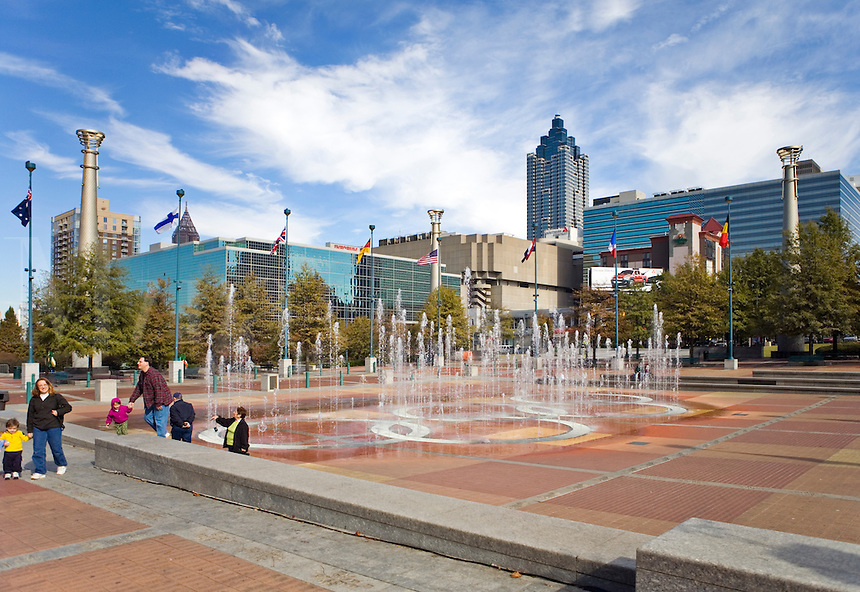 Centennial Olympic Park in Atlanta Georgia