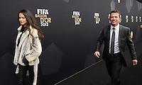 Fussball International  FIFA Ballon d Or / Weltfussballer 2012   07.01.2013 Lothar Matthaeus (re, Deutschland) mit Begleitung