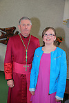Katie Hughes.after being confirmed by Bishop Michael Smith in Julianstown Church..Picture:  www.newsfile.ie ..