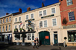 Historic coaching inn Black Horse hotel, Devizes, Wiltshire, England, UK