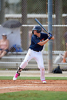 Parker Lester (5) during the WWBA World Championship at the Roger Dean Complex on October 10, 2019 in Jupiter, Florida.  Parker Lester attends Calhoun High School in Calhoun, GA and is committed to Miami (OH).  (Mike Janes/Four Seam Images)