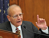"""Washington, DC - December 5, 2008 -- United States Representative Paul E. Kanjorski (Democrat of Pennsylvania) lectures auto industry leaders during the hearing of the United States House Financial Services Committee """"On review of industry plans to stabilize the financial condition of the American automobile industry"""" in Washington, D.C. on Friday, December 5, 2008..Credit: Ron Sachs / CNP"""