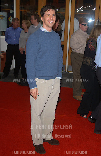 Actor SEAN HAYES at the world premiere, in Hollywood, of his new movie Dr. Suess' The Cat in the Hat..November 8, 2003