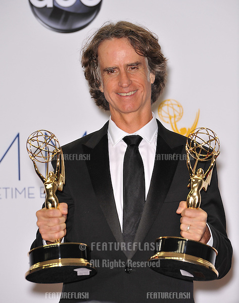 Game Change director Jay Roach at the 64th Primetime Emmy Awards at the Nokia Theatre LA Live..September 23, 2012  Los Angeles, CA.Picture: Paul Smith / Featureflash