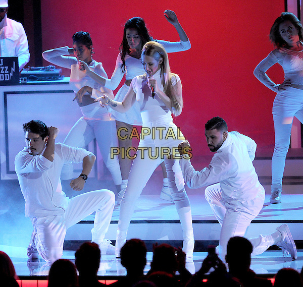 LOS ANGELES, CA - JANUARY 7: Iggy Azalea performs onstage at the People's Choice Awards 2015 at the Nokia Theatre LA Live on January 7, 2015 in Los Angeles, California. <br /> CAP/MPI/FMPG<br /> &copy;FMPG/MPI/Capital Pictures