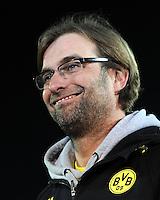 FUSSBALL   DFB POKAL   SAISON 2011/2012   HALBFINALE SpVgg Greuther Fuerth - Borussia Dortmund                  20.03.2012 Trainer Juergen Klopp (Borussia Dortmund)