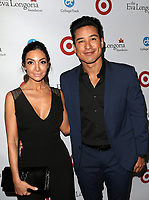 BEVERLY HILLS, CA - OCTOBER 12: Courtney Mazza, Mario Lopez, at the Eva Longoria Foundation Gala at The Four Seasons Beverly Hills in Beverly Hills, California on October 12, 2017. Credit: Faye Sadou/MediaPunch