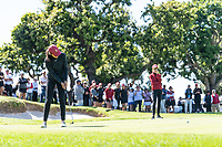 Palos Verdes Estates, CA - April 17, 2019.  Stanford finished fourth in the team competition and junior Albane Valenzuela tied for first in the individual competition but was defeated on the first playoff hole as the 2019 Pac-12 Women's Golf Championship came to a close on Wednesday at Palos Verdes Golf Club.