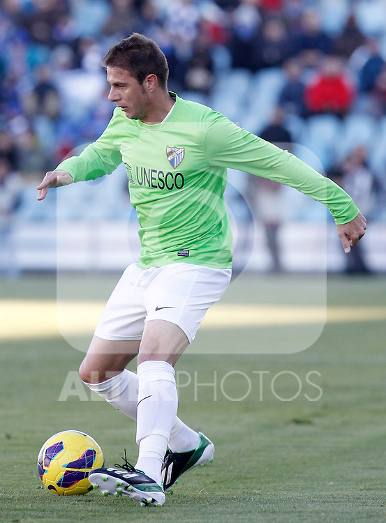 Malaga's Joaquin Sanchez during La Liga match.December 01,2012. (ALTERPHOTOS/Acero)