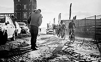 Alex Kirsch (LUX/WB Aqua Protect-Veranclassic) pacing over the rough cobbles<br /> <br /> 50th GP Samyn 2018<br /> Quaregnon &gt; Dour: 200km (BELGIUM)