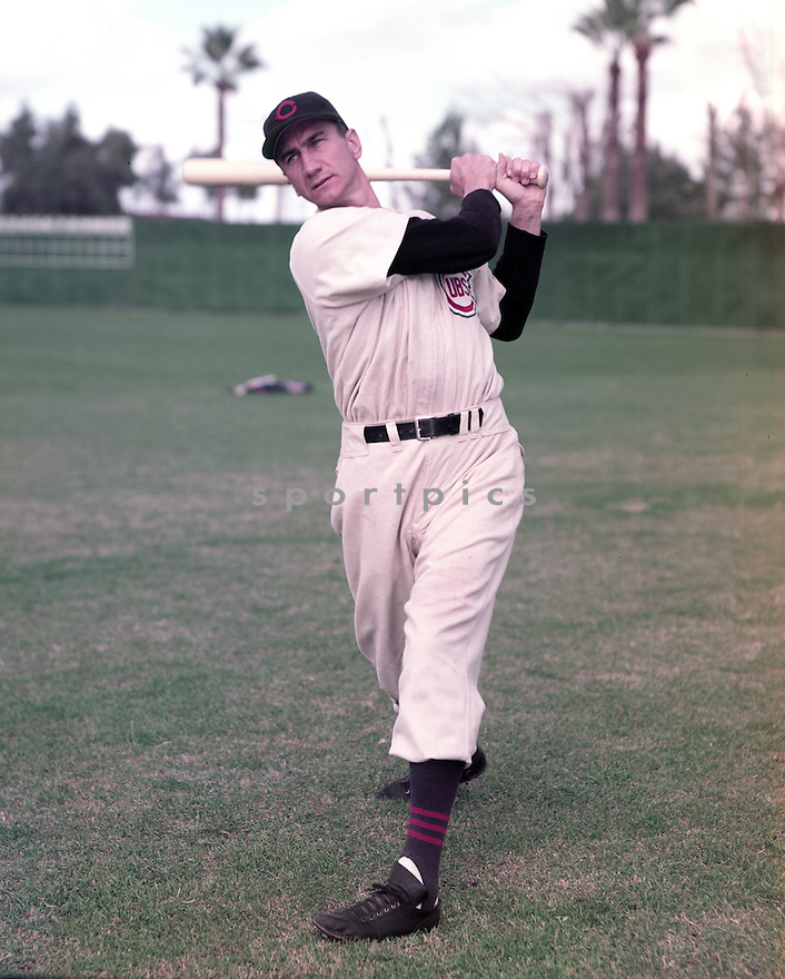 Chicago Cubs Hank Sauer (9) portrait from his 1952  season with the Chicago Cubs.  Hank Sauer played for 15 years with 4 different teams was a 2-time All-Star and was the 1952 National League MVP.