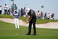 Phil Mickelson (USA) and Soren Kjeldsen (DEN) on the 9th during Round 3 of the Saudi International at the Royal Greens Golf and Country Club, King Abdullah Economic City, Saudi Arabia. 01/02/2020<br /> Picture: Golffile | Thos Caffrey<br /> <br /> <br /> All photo usage must carry mandatory copyright credit (© Golffile | Thos Caffrey)