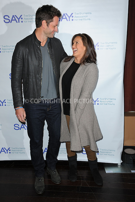 WWW.ACEPIXS.COM<br /> January 12, 2015 New York City<br /> <br /> Peter Hermann and Mariska Hargitay attending the Third Annual Paul Rudd All-Star Bowling Benefit for The Stuttering Association for the Young (SAY) at Lucky Strike Lanes &amp; Lounge on January 12, 2015 in New York City.<br /> <br /> Please byline: Kristin Callahan/AcePictures<br /> <br /> ACEPIXS.COM<br /> <br /> Tel: (212) 243 8787 or (646) 769 0430<br /> e-mail: info@acepixs.com<br /> web: http://www.acepixs.com