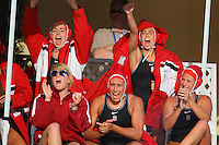 10 May 2008: Stanford Cardinal (Top row L-R) Chelsea Smith-Carmichael, Megan May, (Bottom row L-R) Megan Nesland, Alex Koran, and Kim Krueger during Stanford's 10-6 loss against the USC Trojans in the National Collegiate Women's Water Polo Tournament semifinal game at Avery Aquatic Center in Stanford, CA.