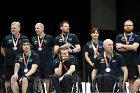 Australian Steelers vs Japan<br /> Australian Wheelchair Rugby Team<br /> 2018 IWRF WheelChair Rugby <br /> World Championship / Finals<br /> Sydney  NSW Australia<br /> Friday 10th August 2018<br /> &copy; Sport the library / Jeff Crow / APC