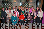 Mercy Convent class of 1968 who had a reunion in the Ross Hotel Killarney on Saturday night front row l-r: Doreen Daly, Sr Kathleen Liston, Margaret O'Sullivan, Eileen O'Sullivan, Maud O'Sullivan, Eilish O'Donoghue. Standing l-r: Yvonne Fleming, Ruth O'Sullivan, Kathleen Scanlon, Doreen Brosnan, Ann Horgan, Colette Meehan, Angela Dennehy, Marie Donoghue, Liz Keogh, Claire Doyle, Mairead Fitzgerald, Mary Daly, Eileen Tracey and Kathleen Fleming   Copyright Kerry's Eye 2008