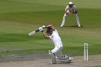 Tom Westley hits 4 runs for Essex during Lancashire CCC vs Essex CCC, Specsavers County Championship Division 1 Cricket at Emirates Old Trafford on 10th June 2018