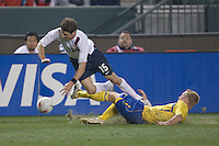 Drew Moor,.USA vs Sweden, Home Depot Center, in Carson, Calif., Sat., January, 19, 2008.