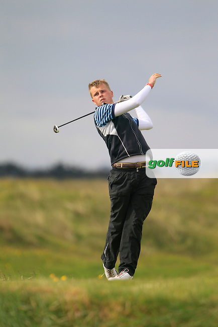 Harry Coyne (Carton House)<br /> during R1 of the East of Ireland Amateur Open championship 2013 at Co Louth Golf club, 1/6/13<br /> Picture:  Thos Caffrey / www.golffile.ie