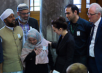 NZ Prime Minister Jacinda Ardern meets with religious community leaders. Members of the NZ Parliament pay tribute to Christchurch terror attack victims at Parliament in Wellington, New Zealand on Monday, 18 March 2019. Photo: Dave Lintott / lintottphoto.co.nz