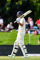Dawid Malan gets to 50 runs during Day 4 of the Second International Cricket Test match, New Zealand V England, Hagley Oval, Christchurch, New Zealand, 2nd April 2018.Copyright photo: John Davidson / www.photosport.nz