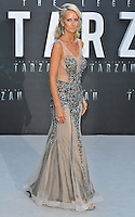 Lady Victoria Hervey at the &quot;The Legend of Tarzan&quot; European film premiere, Odeon Leicester Square, Leicester Square, London, England, UK, on Tuesday 05 July 2016.<br /> CAP/CAN<br /> &copy;Can Nguyen/Capital Pictures /MediaPunch ***NORTH AND SOUTH AMERICAS ONLY***