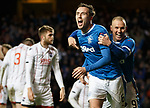 Danny Wilson celebrates his goal with Kenny Miller