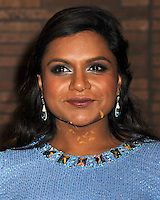 NEW YORK CITY, NY, USA - NOVEMBER 10: Mindy Kaling arrives at the 2014 Glamour Women Of The Year Awards held at Carnegie Hall on November 10, 2014 in New York City, New York, United States. (Photo by Celebrity Monitor)