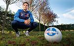 26.10.18 Rangers training: James Tavernier looks ahead to Sunday's Betfred Cup semi-final
