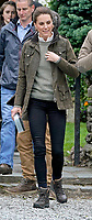 Kate Duchess of Cambridge Katherine Catherine Middleton during a visit to Deepdale Hall Farm, a traditional fell sheep farm, in Patterdale, Cumbria. Photo Credit: ALPR/AdMedia