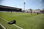 nph00250:  17.05.2020, Brita-Arena, Wiesbaden, GER, 2.FBL, Wehen-Wiesbaden vs VfB Stuttgart 17.05.2020 , <br /> Nur für journalistische Zwecke!<br /> <br /> Gemäß den Vorgaben der DFL Deutsche Fußball Liga ist es untersagt, in dem Stadion und/oder vom Spiel angefertigte Fotoaufnahmen in Form von Sequenzbildern und/oder videoähnlichen Fotostrecken zu verwerten bzw. verwerten zu lassen. <br /> <br /> Only for editorial use! <br /> <br /> DFL regulations prohibit any use of photographs as image sequences and/or quasi-video..<br /> im Bild<br /> Geisterspiel leeres Stadion <br /> Foto: Robin Rudel/Pressefoto Rudel/Pool/via nordphoto / Bratic