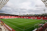A general view of AESSEAL New York Stadium, home of Rotherham United<br /> <br /> Photographer Chris Vaughan/CameraSport<br /> <br /> The EFL Sky Bet Championship - Rotherham United v Lincoln City - Saturday 10th August 2019 - New York Stadium - Rotherham<br /> <br /> World Copyright © 2019 CameraSport. All rights reserved. 43 Linden Ave. Countesthorpe. Leicester. England. LE8 5PG - Tel: +44 (0) 116 277 4147 - admin@camerasport.com - www.camerasport.com