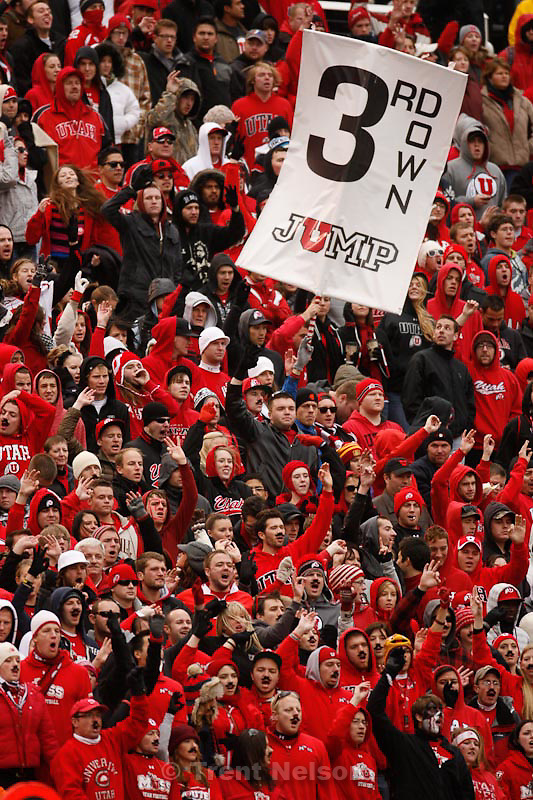 Trent Nelson  |  The Salt Lake Tribune.Utah fans in the MUSS during the second quarter, Utah vs. Colorado, college football at Rice-Eccles Stadium in Salt Lake City, Utah, Friday, November 25, 2011