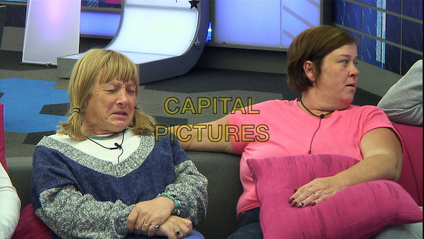 Kellie Maloney	&amp; Deirdre Kelly <br /> in Celebrity Big Brother - Summer 2014 (Day 8)<br /> *Editorial Use Only*<br /> CAP/NFS<br /> Image supplied by Capital Pictures
