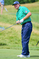 Ernie Els (RSA) watches his tee shot on 12 during Friday's round 2 of the 117th U.S. Open, at Erin Hills, Erin, Wisconsin. 6/16/2017.<br /> Picture: Golffile | Ken Murray<br /> <br /> <br /> All photo usage must carry mandatory copyright credit (&copy; Golffile | Ken Murray)