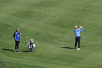 Darius Van Driel (NED) on the 7th fairway during Round 2 of the Challenge Tour Grand Final 2019 at Club de Golf Alcanada, Port d'Alcúdia, Mallorca, Spain on Friday 8th November 2019.<br /> Picture:  Thos Caffrey / Golffile<br /> <br /> All photo usage must carry mandatory copyright credit (© Golffile | Thos Caffrey)
