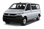 2020 Volkswagen Transporter - 4 Door Passenger Van Angular Front automotive stock photos of front three quarter view