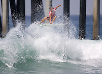 Chris Ward. 2009 ASP WQS 6 Star US Open of Surfing in Huntington Beach, California on July 23, 2009. ..