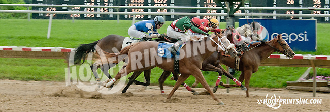 My Sister Caro winning at Delaware Park racetrack on 6/19/14