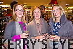 Olive, Margaret and Mary Brick, attending the beauty evening at Ch Chemist, Tralee on Friday.