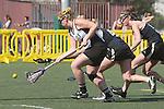 Santa Barbara, CA 02/18/12 - unidentified Cal Poly SLO player(s) in action during the 2012 Santa Barbara Shootout.  Colorado defeated Cal Poly SLO 8-7.
