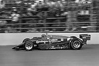 INDIANAPOLIS, IN - MAY 31: AJ Foyt drives his March 86C 23/Cosworth during the Indianapolis 500 USAC Indy Car race at the Indianapolis Motor Speedway in Indianapolis, Indiana, on May 31, 1986.