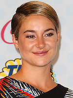 LOS ANGELES, CA, USA - AUGUST 10: Shailene Woodley poses in the press room during the Teen Choice Awards 2014 held at The Shrine Auditorium on August 10, 2014 in Los Angeles, California, United States. (Photo by Celebrity Monitor)