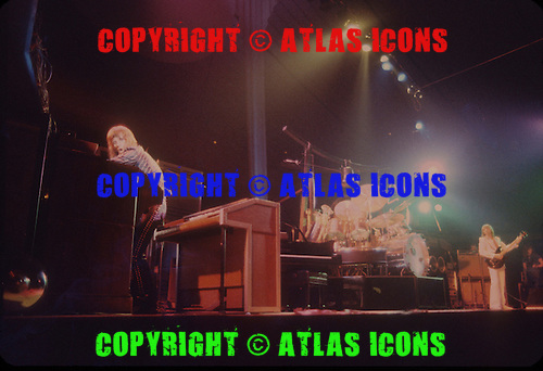 EMERSON LAKE AND PALMER, LIVE, 1974, NEIL ZLOZOWER