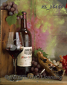 Interlitho-Alberto, STILL LIFE STILLEBEN, NATURALEZA MORTA, paintings+++++,wine, glass,opener,KL16466,#i#, EVERYDAY ,masculin,red wine,spirits