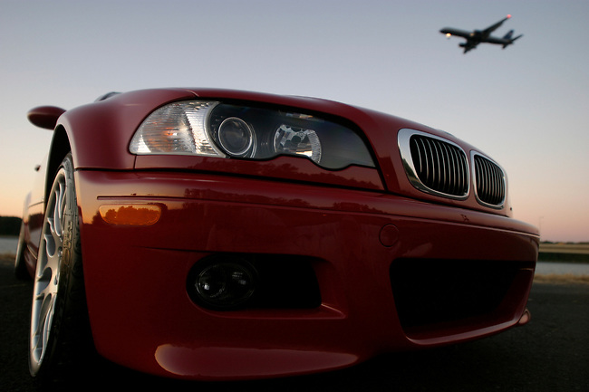 2006 BMW M3 Competition Edition in Imola Red.