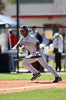 February 20, 2009:  Outfielder Harold Brantley Jr. of the University of Connecticut during the Big East-Big Ten Challenge at Jack Russell Stadium in Clearwater, FL.  Photo by:  Mike Janes/Four Seam Images